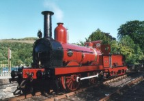 FR No 20 as newly restored, pictured at Lakeside.
