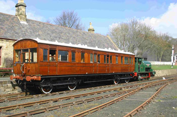 Built for Royalty, owned by the Furness Railway Trust