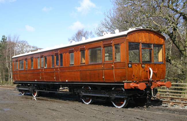 Overhaul finished, GER5 after arrival at Beamish