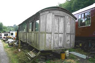 The body of the NLR First class carriage/ambulance coach