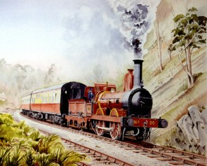 Limited Edition Print of FR No 20 by Roger Street