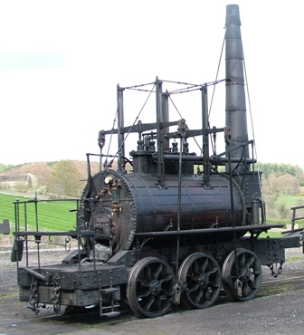 Steam Elephant from Beamish