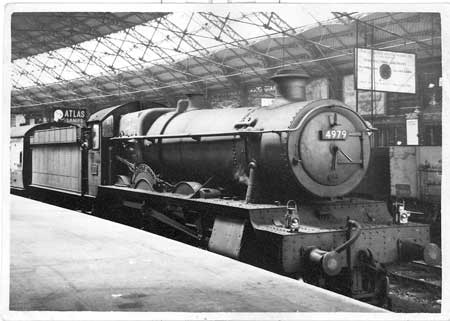 At Bristol Temple Meads in the early 1950s
